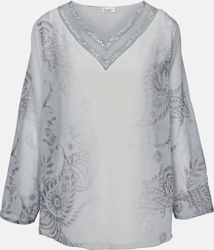 Linea Tesini By Heine Print Tunic With Sequins