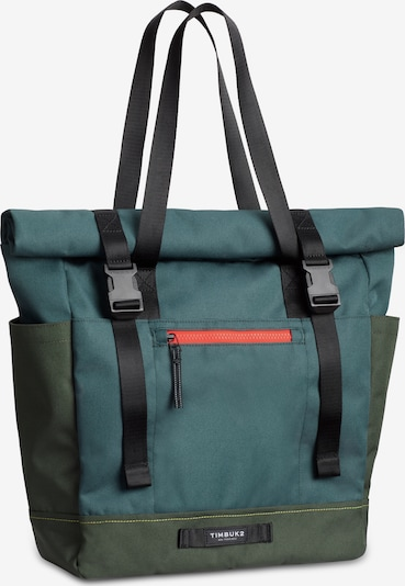 TIMBUK2 Schultertasche 'TBH Forge' in oliv / petrol, Produktansicht