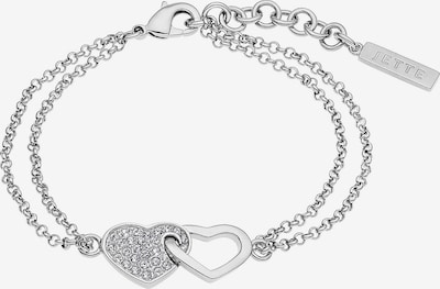JETTE Armband in silber: Frontalansicht
