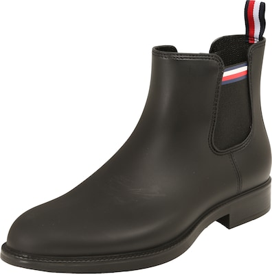 TOMMY HILFIGER Gummistiefel im Chelsea-Boot-Look