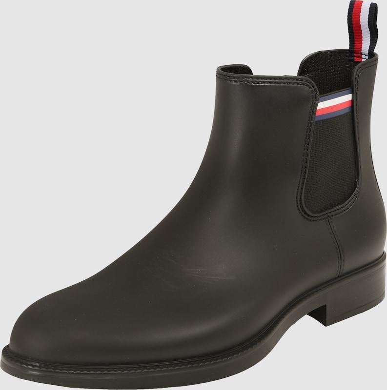 TOMMY HILFIGER Gummistiefel im Chelsea-Boot-Look