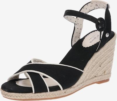 Pepe Jeans Sandale 'Shark Plain' in schwarz, Produktansicht