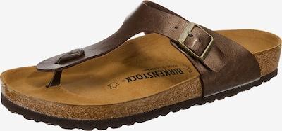 BIRKENSTOCK Sandals 'Gizeh' in Dark brown, Item view
