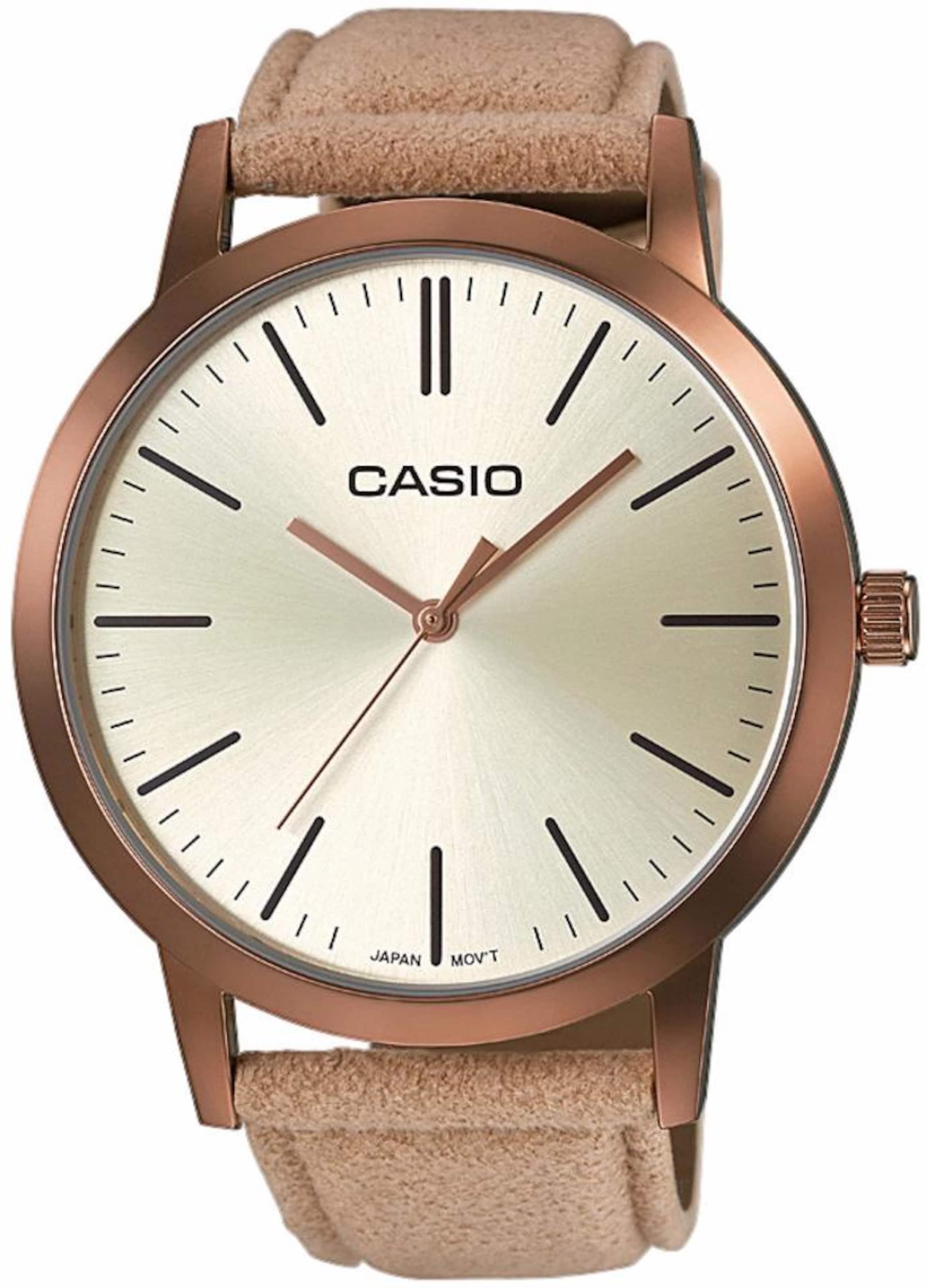 CASIO Collection Quarzuhr 'LTP-E118RL-9AEF' Outlet Rabatt hcdWIxcEA6