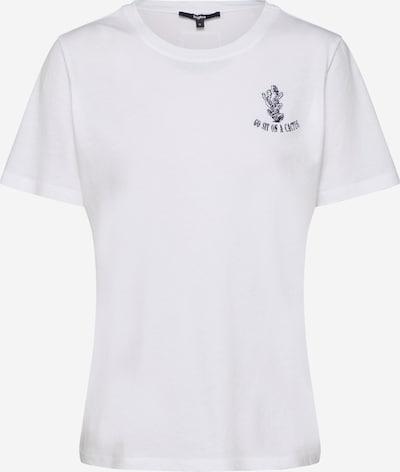 tigha T-shirt 'Cactus' en blanc, Vue avec produit