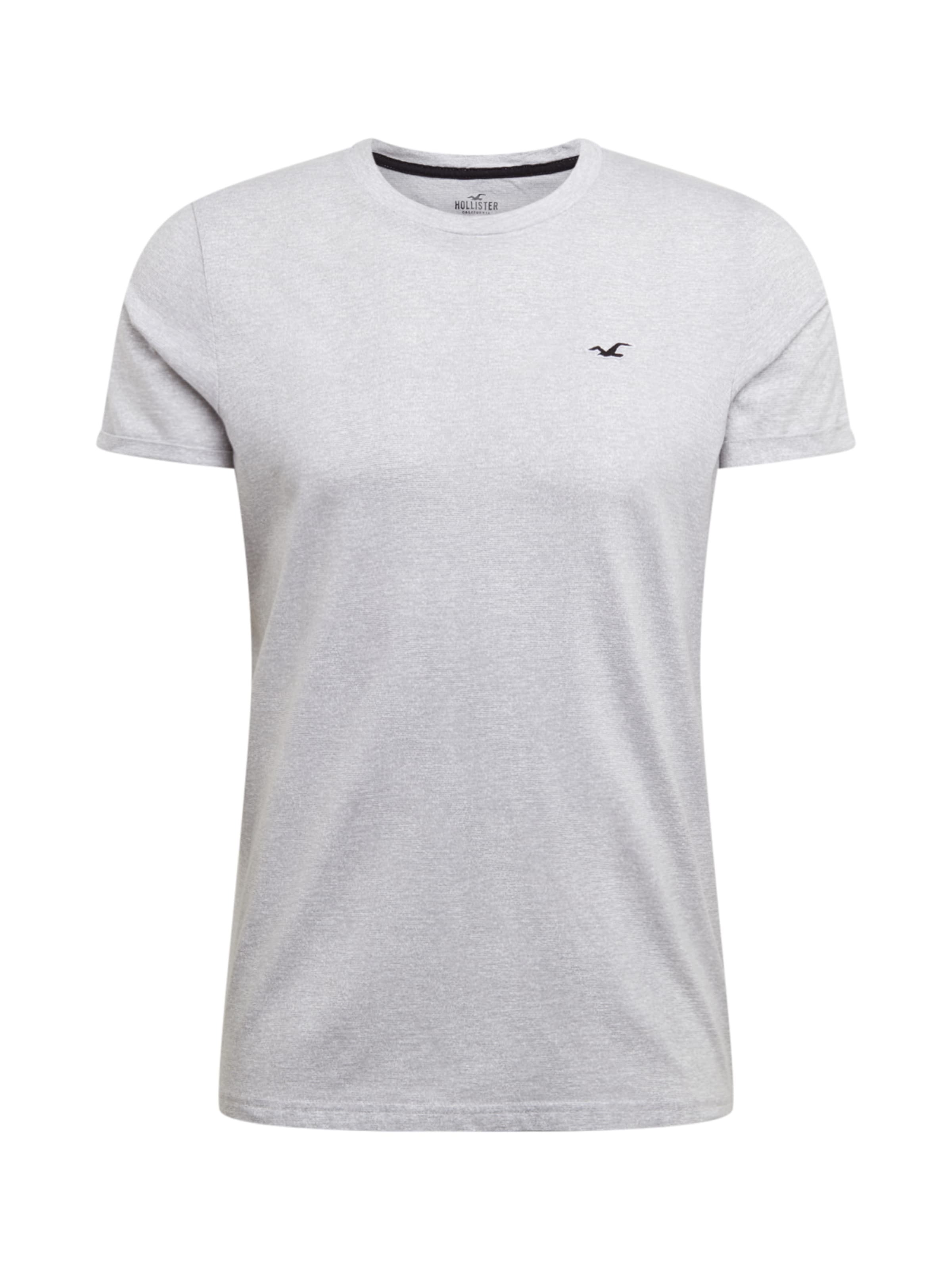 Shirt Hollister 't1 Grau Fit' In Ss Muscle ygbf76