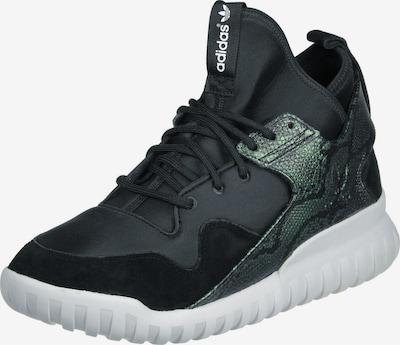 ADIDAS ORIGINALS Schuhe ' Tubular X ' in khaki / schwarz: Frontalansicht