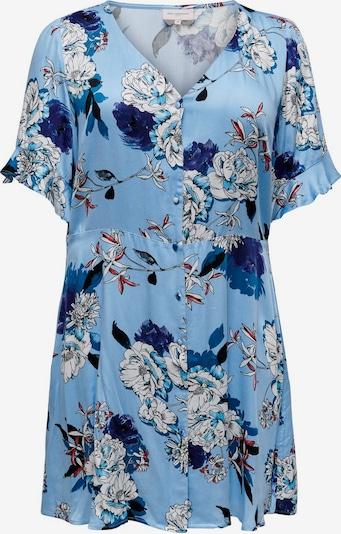 ONLY Carmakoma Robe en bleu clair, Vue avec produit
