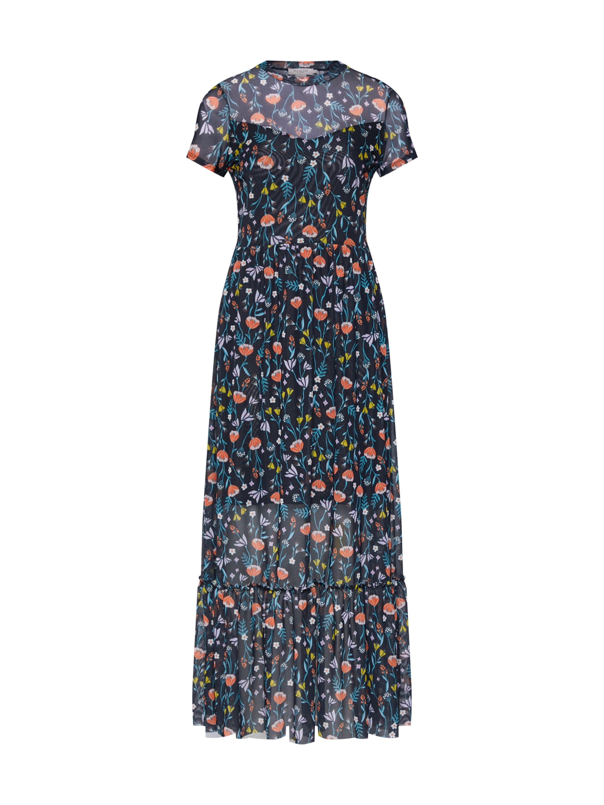 In Luxury 'ariane' Kleid MischfarbenSchwarz Soaked N0OPXknw8