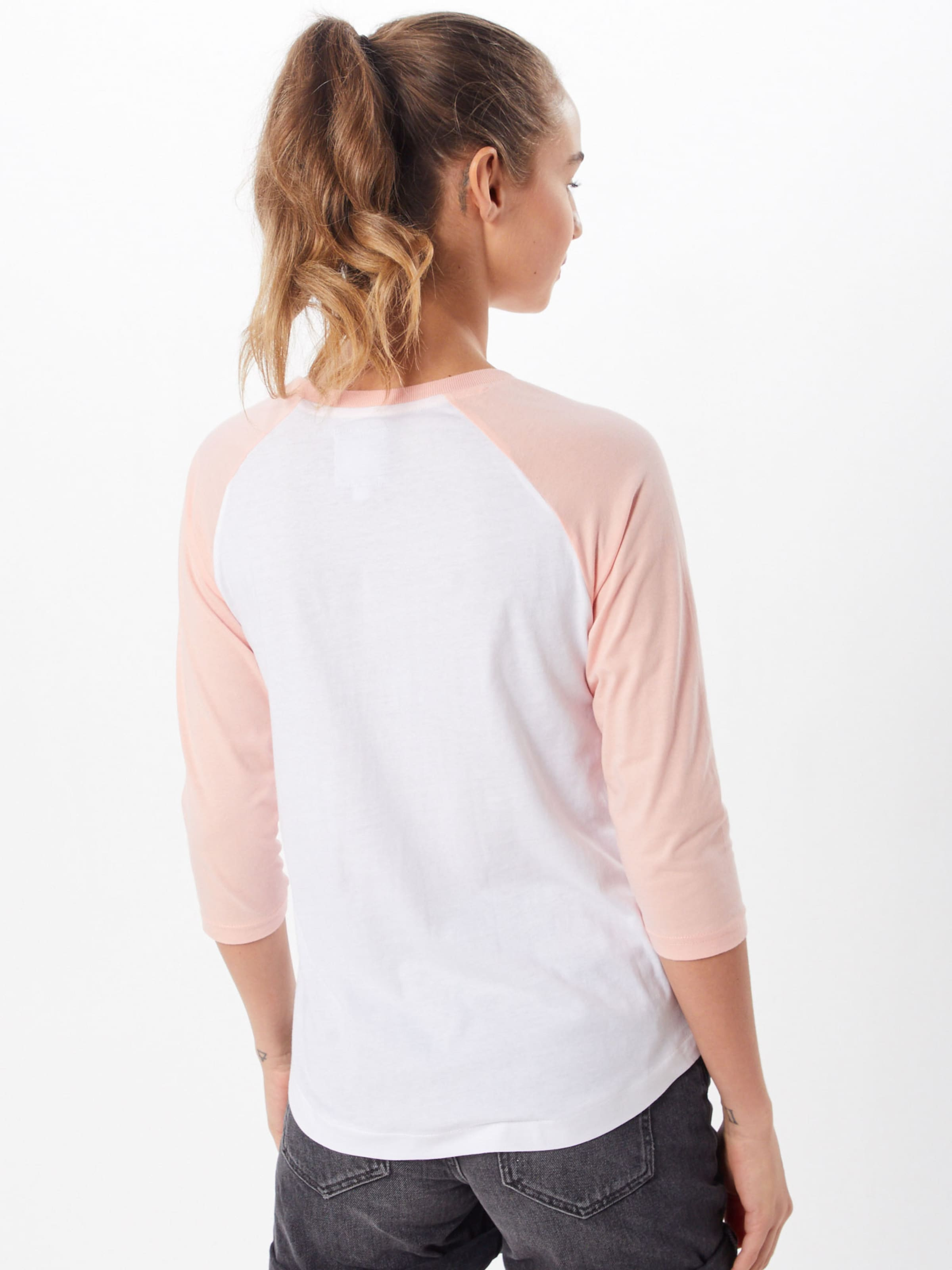 Shirt 'edge' Element PfirsichWeiß Shirt Element In SUqMVpz