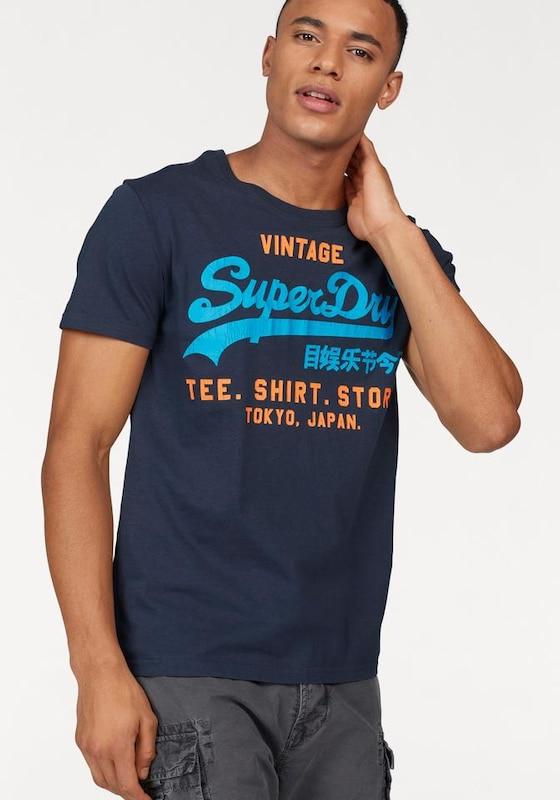Superdry Rundhalsshirt 'SHIRT SHOP DUO LITE TEE'