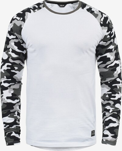 !Solid Rundhalsshirt 'Cajus' in weiß, Produktansicht