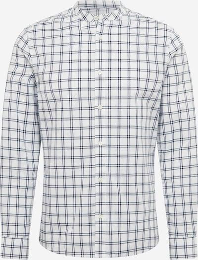 BURTON MENSWEAR LONDON Overhemd 'LS WHT ORG CHK GDAD ' in de kleur Wit, Productweergave