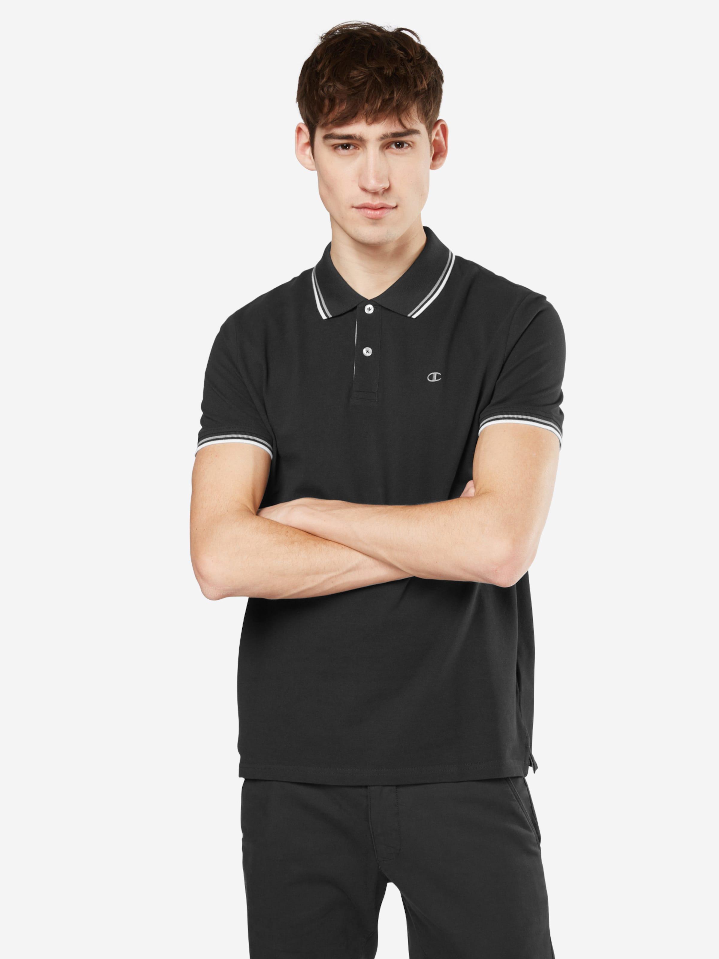 Champion Authentic Athletic Apparel Poloshirt mit Marken-Stickerei Professionelle Günstig Online Nah6NQLx