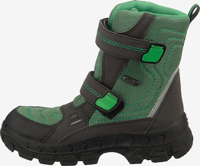 RICHTER Winterstiefel 'Davon' in grün / schwarz, Produktansicht