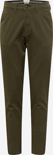 SELECTED HOMME Pantalon chino 'Miles' en vert foncé, Vue avec produit