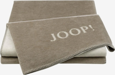 JOOP! Wohndecke 'Melange Doubleface' in sand / naturweiß, Produktansicht
