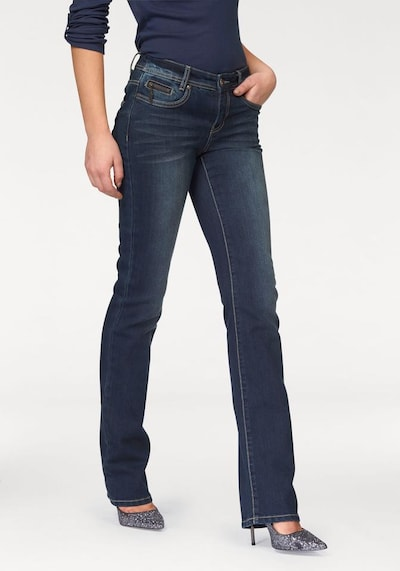ARIZONA Jeans 'Push-up' in blue denim, Modelansicht