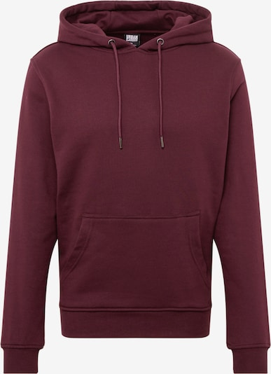 Urban Classics Sweatshirt 'Basic Sweat Hoody' in weinrot, Produktansicht