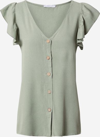 Hailys Bluse in khaki, Produktansicht