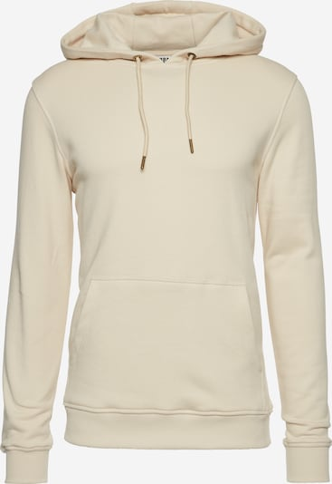 Urban Classics Sweatshirt Basic Sweat Hoody in creme: Frontalansicht