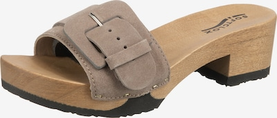 SOFTCLOX Pantolette 'Polli' in taupe, Produktansicht