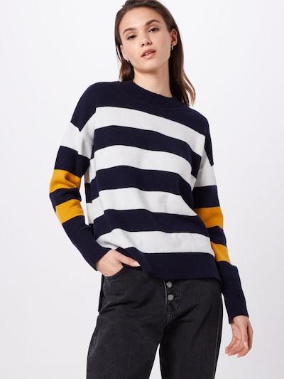 EDC BY ESPRIT Pullover in navy / mischfarben, Modelansicht