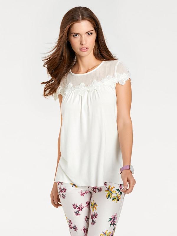 Ashley Brooke by heine Shirt mit Spitzeneinsatz