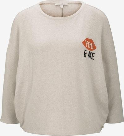 TOM TAILOR DENIM Shirt in camel / rot / schwarz, Produktansicht