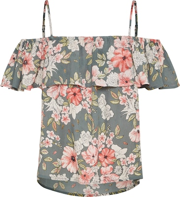 BILLABONG Off-Shoulder Top 'SUMMER SUNSETS'