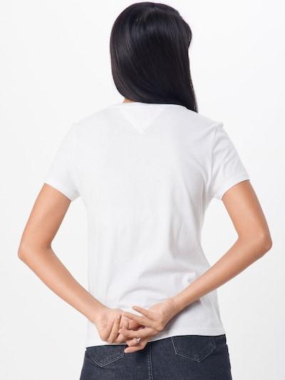 Tommy Jeans T-Krekls pieejami balts: Aizmugures skats