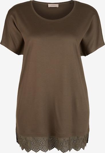 TRIANGLE T-Shirt in braun, Produktansicht