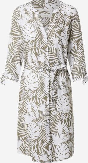 BRAX Kleid 'GLORIA' in khaki / weiß, Produktansicht