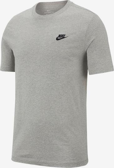Nike Sportswear Tričko - šedý melír / černá, Produkt