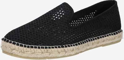espadrij l´originale Espadrilles 'Loafer' in de kleur Zwart: Vooraanzicht