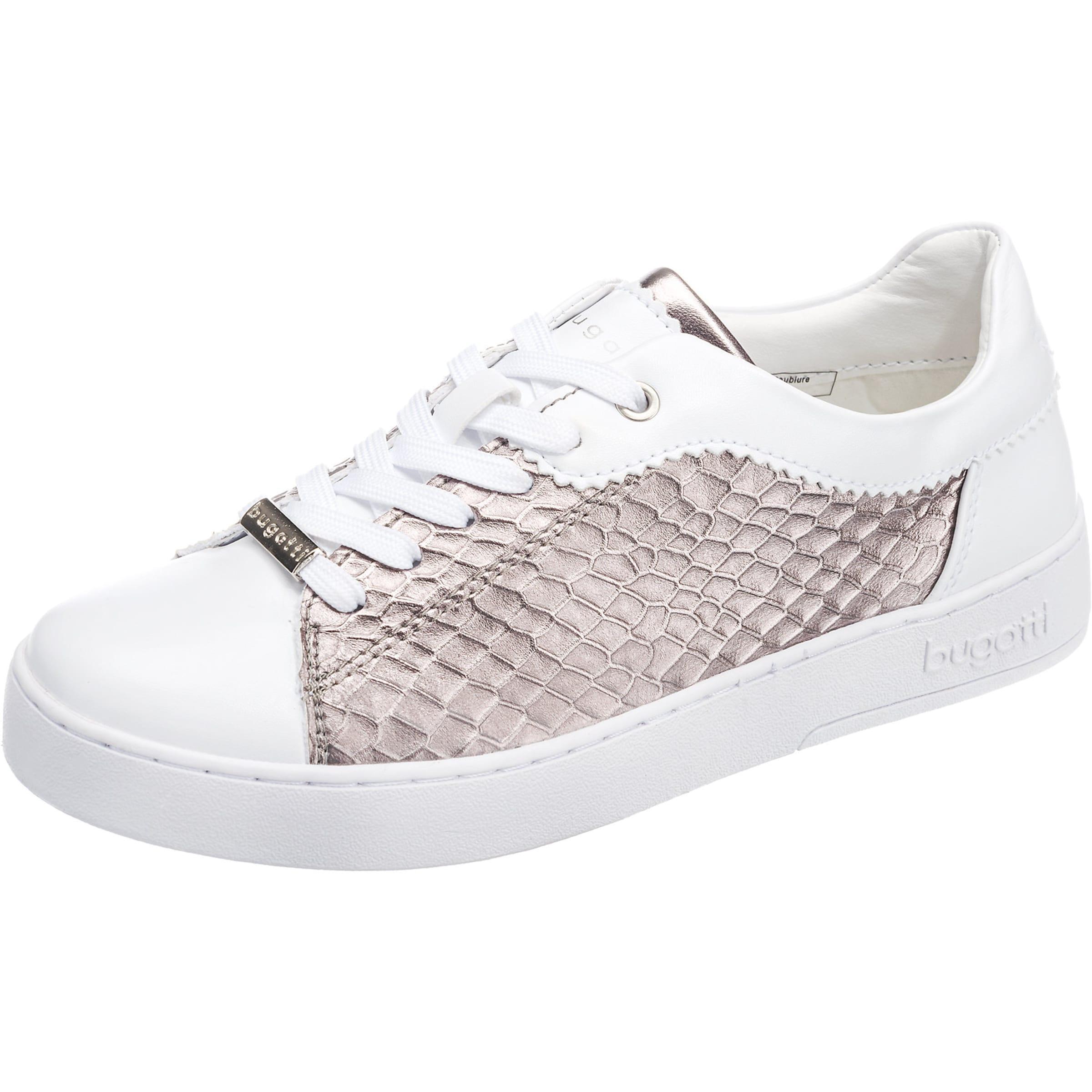 bugatti Sneaker mit Metallic-Look Verschleißfeste billige Schuhe