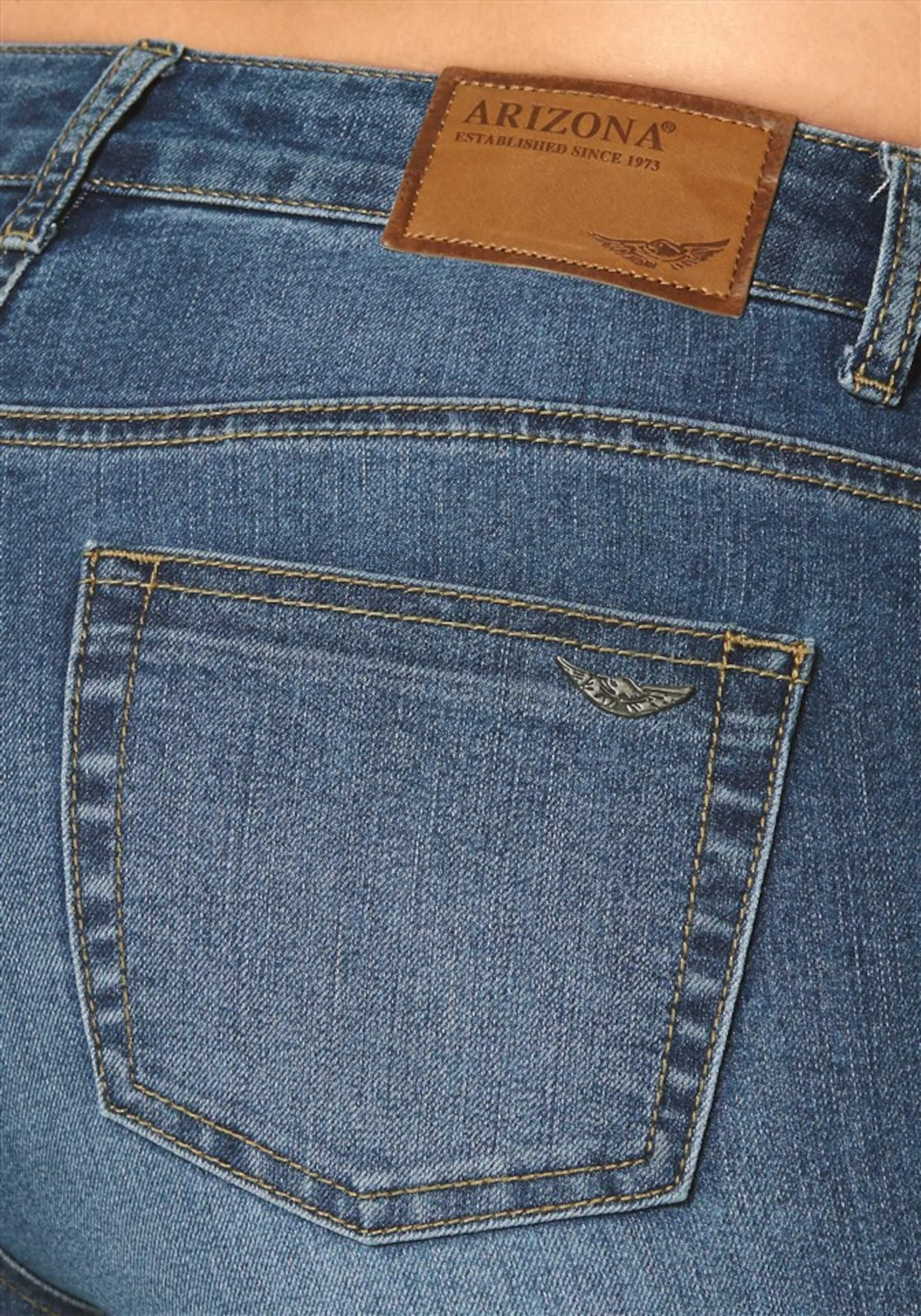 Günstig Kaufen Verkauf Niedriger Preis Versandkosten Für Online ARIZONA High-waist-Jeans 'Bootcut mit komfortabler Leibhöhe' Billig v1PeC