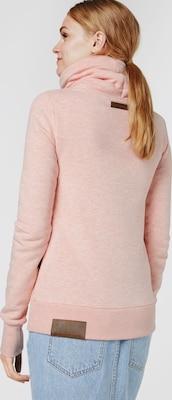 naketano Sweatshirt 'MIT STIL65' in Rosa