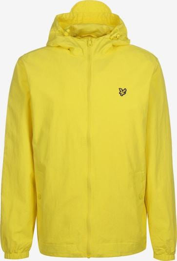 Lyle & Scott Jacke ' Sportswear ' in gelb: Frontalansicht
