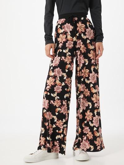 Lauren Ralph Lauren Broek in de kleur Crème / Rosa / Zwart, Modelweergave