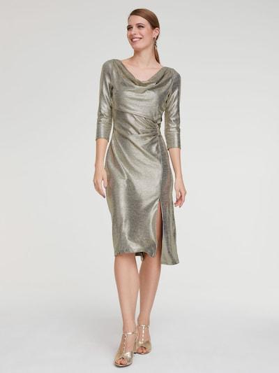 heine Koktejlové šaty - zlatá, Model/ka