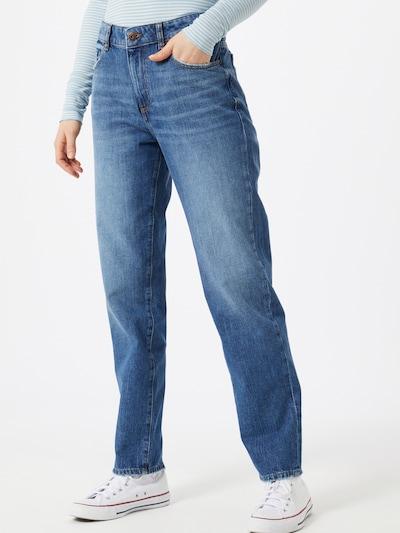 EDC BY ESPRIT Jeans 'RELAXED CRO' in blue denim / dunkelblau, Modelansicht