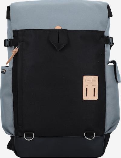Harvest Label Rugzak 'Koyasan' in de kleur Grijs / Zwart, Productweergave