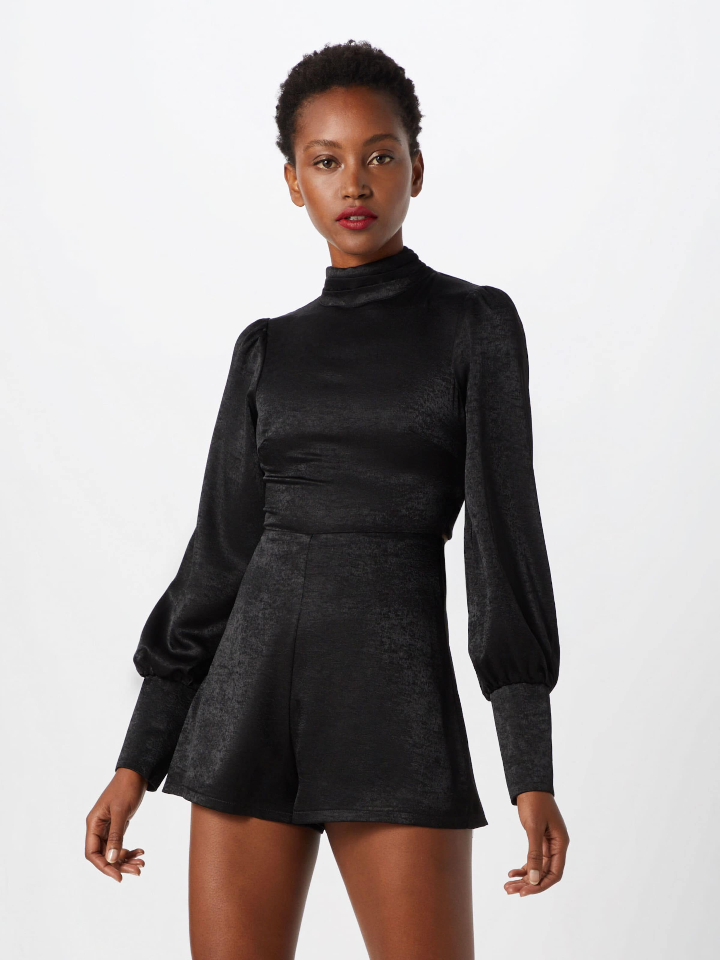 Fashion Union In Schwarz 'deneb' Overall hQdxCtrs