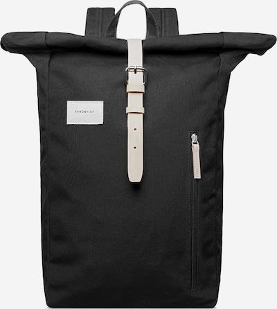 SANDQVIST Rucksack 'Dante' in schwarz, Produktansicht