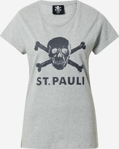 FC St. Pauli Funktsionaalne särk 'Totenkopf' antratsiit / meleeritud hall, Tootevaade