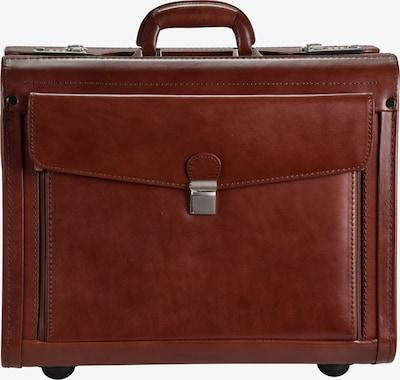 Dermata Pilotenkoffer in cognac, Produktansicht