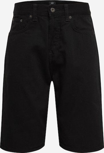 EDWIN Jeans 'ED-45 Short' in black denim, Produktansicht