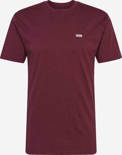 VANS Majica | vinsko rdeča barva, Prikaz izdelka