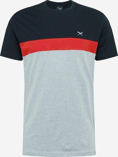 Iriedaily Shirt in hellgrau / melone / schwarz, Produktansicht